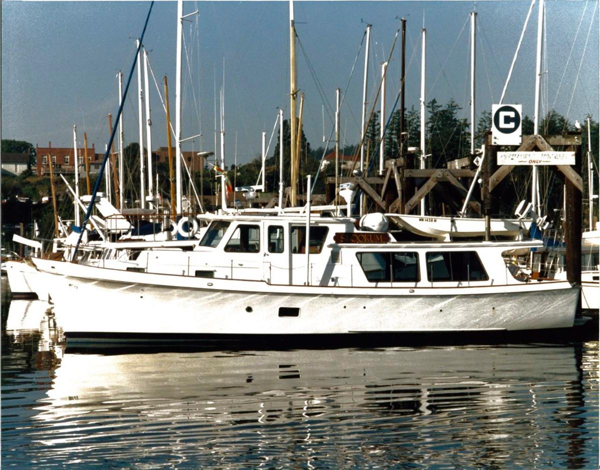 Previous boat a 47' Bill Garden