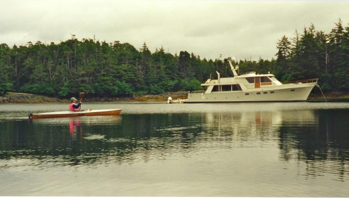 Previous boat a 63' Ed Monk Jnr